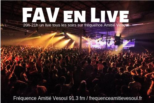 FAV en Live : Cette semaine ! (S16)